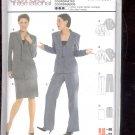 Burda pattern-  8262- Jacket, pants, skirt - size 10-22- -  uncut