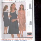 Burda pattern  8641-  Maternity Dress, Jumper  Sizes 8-20   uncut