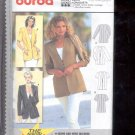 Burda pattern  2952    Jacket short sleeve and long sleeve   Sizes 10-20   uncut
