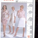 Burda pattern  8333- Suit-  Skirt, Top, Blouse  Sizes 10-22   uncut