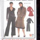 Burda pattern 8161 Coordinates, Pants, Skirt, Jacket   Sizes 10-22   uncut
