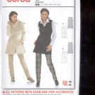 Burda pattern 8297 Vest Long   Sizes 10-22   uncut