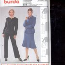 Burda pattern 8390   Coordinates- Jacket, skirt, pants - Sizes 10-20  uncut