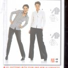 Burda pattern 8286 Blouse   Sizes 10-22   uncut