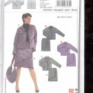 Burda pattern 8162- Suit- jacket skirt   Sizes 12-24   uncut