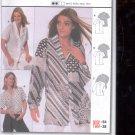 Burda pattern 3018 Blouse   Sizes 10-28  uncut