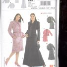 Burda pattern 8141- suit- Skirt, jacket   Sizes 18-30  uncut