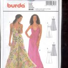 Burda pattern 8197    Dress  long     Sizes  6-16  uncut