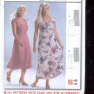 Burda pattern 8379 Dress    Sizes 18-34   uncut