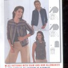 Burda pattern 8483  Jacket    Sizes 8-20   uncut