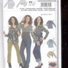 Burda pattern 8139  Blouse, Wrap shirt     Sizes 10-24   uncut