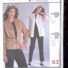 Burda pattern 8334 Jacket    Sizes  10-24   uncut