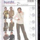 Burda pattern 8291  Shirt    Sizes  10-22   uncut