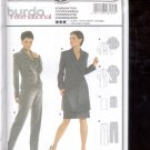 Burda pattern 8260 Coordinates- Pants, Skirt, jacket    Sizes 8-20   uncut