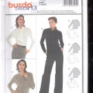 Burda pattern 8290  Blouse, shirt    Sizes  10-24   uncut