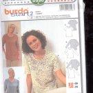 Burda pattern 8998 Shirt  with scoop neckline  Sizes  10-24   uncut