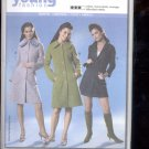 Burda pattern 8124 Coat     Sizes  6- 18  uncut