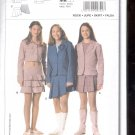 Burda pattern  9722-  Girls  skirt 3 styles   Sizes  7- 14 junior   uncut