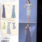 Simplicity Pattern 2580 H5 Misses Dresses in 2 lengths   sizes H5- 6-14 uncut