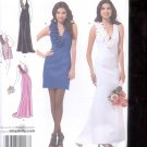 Simplicity Pattern 2213 Misses Evening Dress in 2 lengths  sizes D5--4-12 uncut
