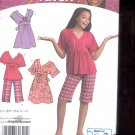 Simplicity Pattern 3904 Girls Dress  top, shorts- sizes AA- 8-16 uncut