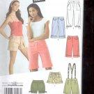 Simplicity Pattern 3849 JRs Cropped pants  shorts   sizes BB- 11/12,15/16  uncut