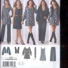 Simplicity Pattern 3539 Misses Pants, Dress, Jacket ,vest   sizes K5- 8-16 uncut