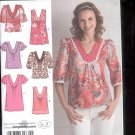 Simplicity Pattern 2891- Misses  Tunic or top   sizes H5- 6- 14  uncut