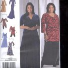Simplicity Pattern 2544 Misses Dress in 3 lengths - sizes BB-20W-28W uncut
