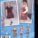 Simplicity Pattern 2574 Toddlers and child's Jumper - sizes BB- 4-8 uncut