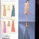 Simplicity Pattern 2582 Misses Dress in 3 lengths - sizes  H5- 6-14 uncut