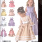 Simplicity Pattern 4337  Child's special occression dress  sizes AA- 3-6 uncut