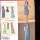 Simplicity Pattern 2647 Misses Dresses in 2 lengths  sizes  P5 12-20 uncut