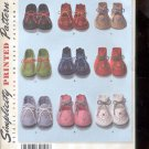 Simplicity Pattern 2667   Baby Booties -  one size uncut