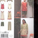 Simplicity Pattern 2975 Misses Capri pants ,dress or tunic  sizes  H5-6-14 uncut