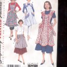 Simplicity Pattern 3544  Misses  Aprons  sizes A- S-L uncut