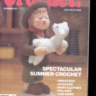 Hooked on Crochet- Number 10-  July/Aug.1988