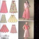 Simplicity Pattern 4188  Misses skirt and belt   sizes  K5-  8-16 uncut