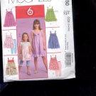 McCalls Pattern M5620 - Misses Dresses - size EE -14-20     uncut