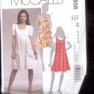 McCalls Pattern M5656 - Misses Jumper and Dresses - size BB- 8-14    uncut