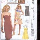 McCalls Pattern M5881- Misses Dresses, - size DD- 12-18 uncut