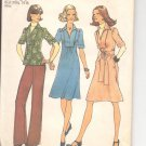 Simplicity pattern 7049- Misses Dress or top and pants- Size 6 & 8- vintage