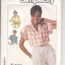 Simplicity pattern 7447- Misses  shirt in 2 lengths- Size 10. 12. 14.