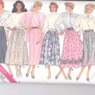 Butterick pattern 5736- Misses Skirt in several views- Size 14.16.18