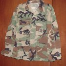 BDU's Woodland Camo Shirt- Medium- Short (# 31)
