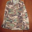 BDU's Woodland Camo Shirt- Medium- Short (# 32)