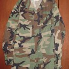 BDU's Woodland Camo Shirt- Large-Long (# 30)