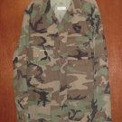 BDU's Woodland Camo Shirt- Large-X-Long (# 28)
