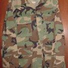 BDU's Woodland Camo Shirt- Medium- Regular (# 34)