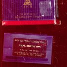 Avon Silk Finish eyeshadow single- Teal Suede- NOS